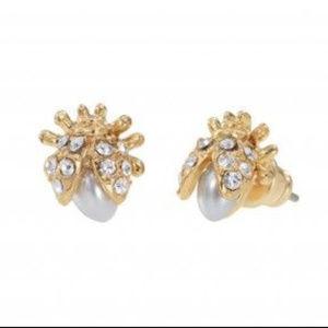 Stella & Dot Lady Bug Earrings